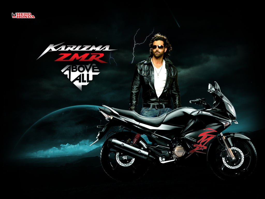 hero-honda-new-karizma-zmr images and hero-honda-new-karizma-zmr wallpapers